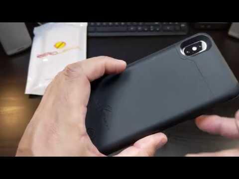 online retailer 4e8cb af4a0 Apple iPhone 10 ZeroLemon 4000mAh Extended Battery Case