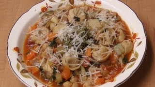 Minestrone With Cheese Tortellini