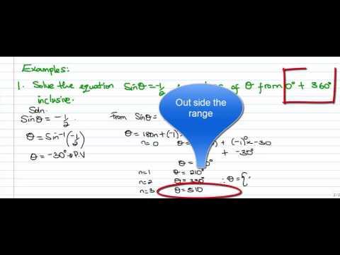 Trig Vid4aMDM - General Formula