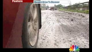 Honda City Drive to Discover on OVERDRIVE