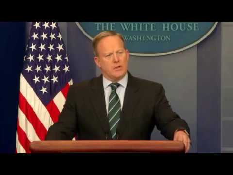 Press Briefing; Building The US-MEX Wall and Supreme Court Nomination