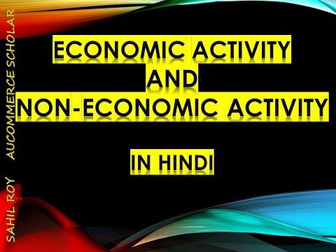 ECONOMIC ACTIVITY AND