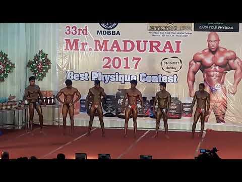 2017 Mr.madurai Musical Poseing