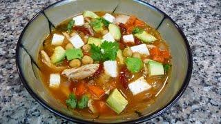 Easy Mexican Recipe, Tlalpeño Soup Recipe, Caldo Tlalpeño