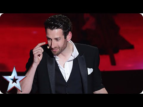 Jamie Raven's incredible magic moment | Semi-Final 3 | Britain's Got Talent 2015