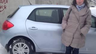 Видео отзыв spb.garage     (Запрос в Яндексе13665163 )Toyota Auris