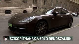 Szigorítaná a kormány, hogy ki kaphat az autójára zöld rendszámot 19-08-02