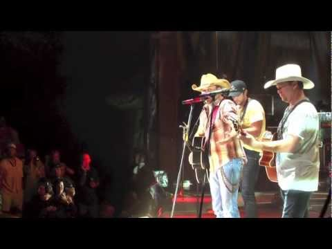 Tracy Lawrence - I'm Over You (Live with Luke Bryan & Jason Aldean)