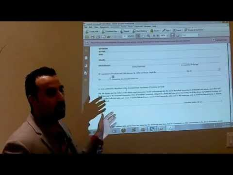 Real Estate Sales Representative working with a Buyer - Training Session II