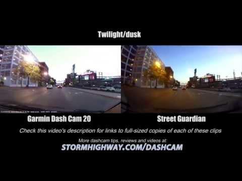 Dashcam Comparison: Garmin Dash Cam 20 Vs Street Guardian