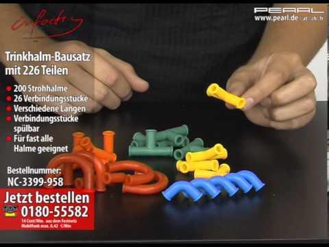 Infactory Trinkhalm Bausatz Mit 226 Teilen Youtube