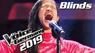Gambar cover The Greatest Showman Cast - Never Enough (Claudia Emmanuela Santoso)| Voice of Germany 2019 | Blinds