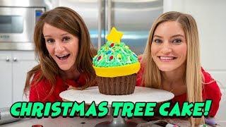 Making A Christmas Tree Cake! 🎄