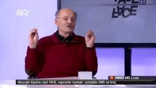Mustafa Nadarević u Face to Face: Političari su loši glumci