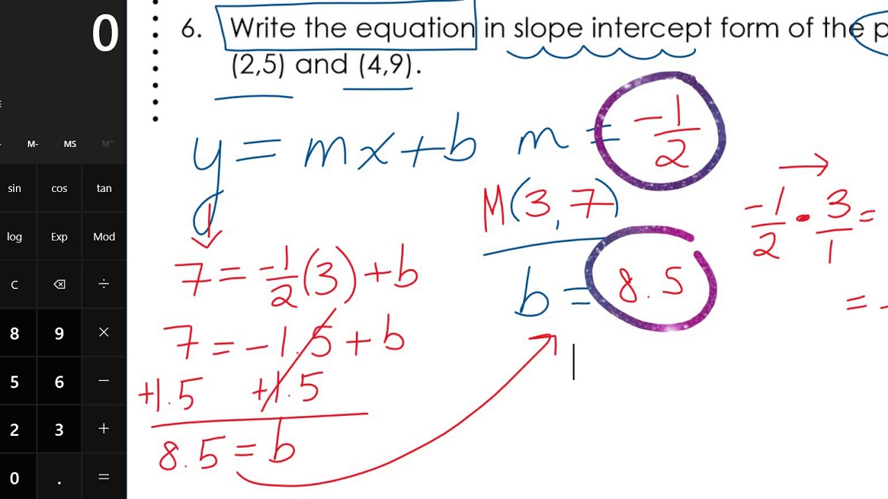 Geometry EOC Full Year Review Packet - FHS page 2 - YouTube