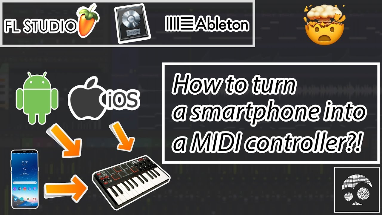 android phone as a midi controller fl studio tutorial youtube. Black Bedroom Furniture Sets. Home Design Ideas