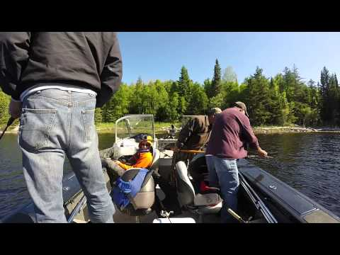 Lac seul 2015 fishing day 3 2nd week of june youtube for Lac seul fishing report