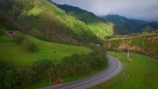 tafi del valle - Tucuman - vista aerea de los cerros