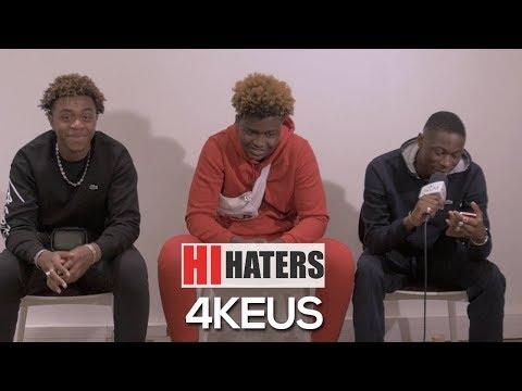 Les 4KEUS réagissent aux Haters du net dans #HiHaters