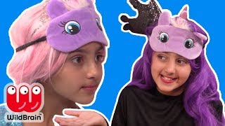 Princesses Play Try Not To Eat Challenge 🍽 - Princesses In Real Life | Kiddyzuzaa Jr - WildBrain