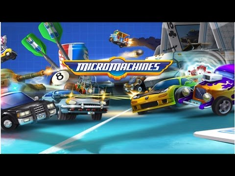 Micro Machines Android Gameplay (HD)