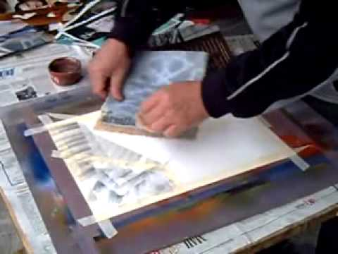 Come fare un astratto originale con colori presi dalle riviste ...