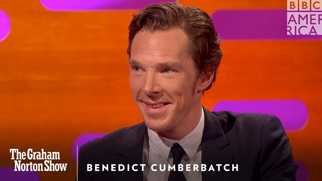 Benedict Cumberbatch Reacts to a Reddit Review of Himself - The Graham  Norton Show