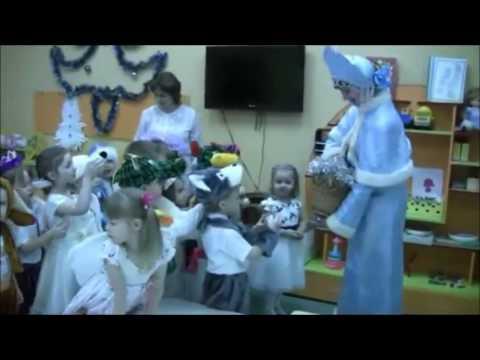 Новый год в детском саду.  Интересное Приглашение детей в зал на праздник