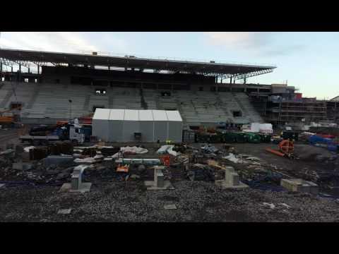 Nye Vålerenga Stadion november 2016