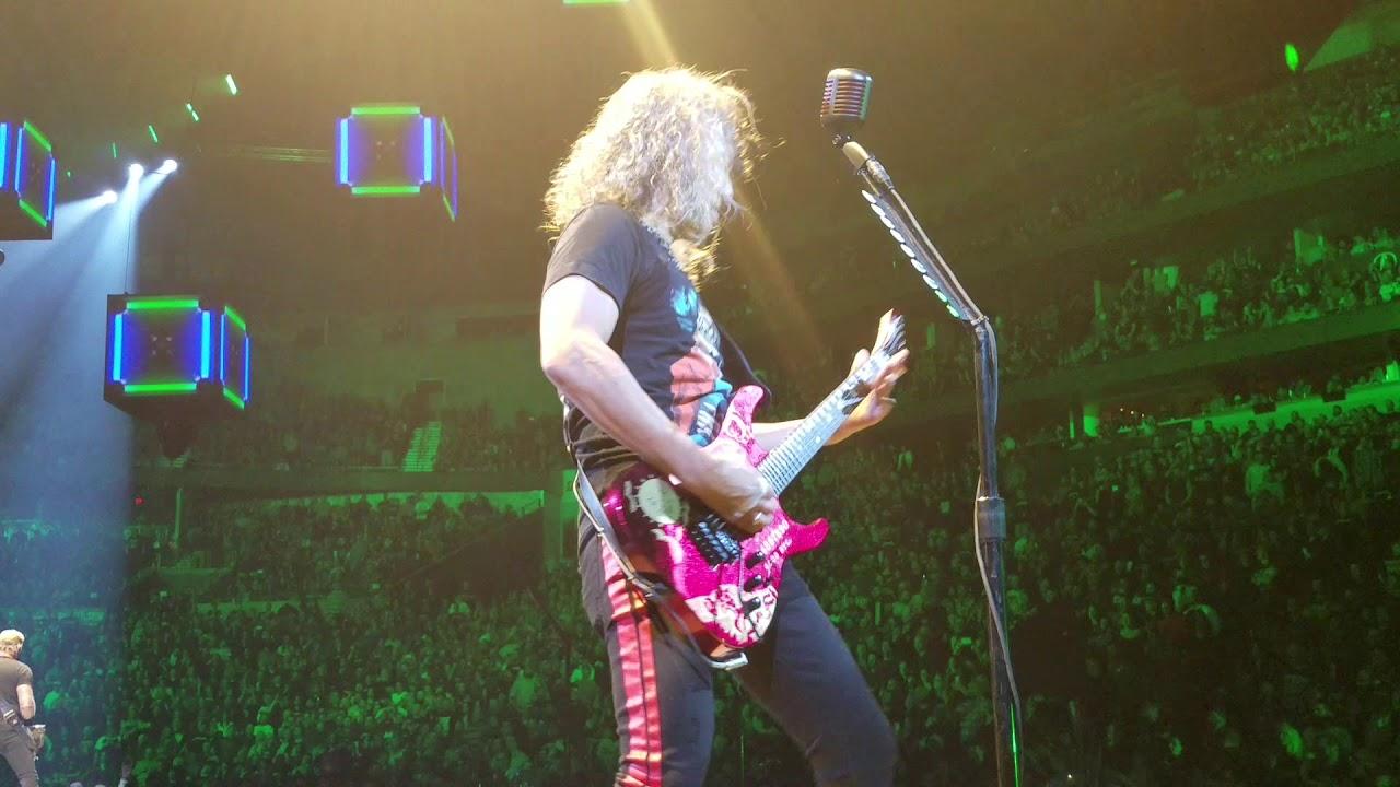 Metallica - Harvester Of Sorrow - Nashville, TN, Bridgestone Arena  01/24/2019