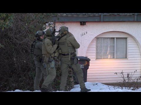 RCMP Emergency Response Team Raid Home In Port Coquitlam