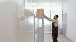 видео Стеллажи металлические полочные - купить полки для стеллажей от компании «Металлическая Мебель»