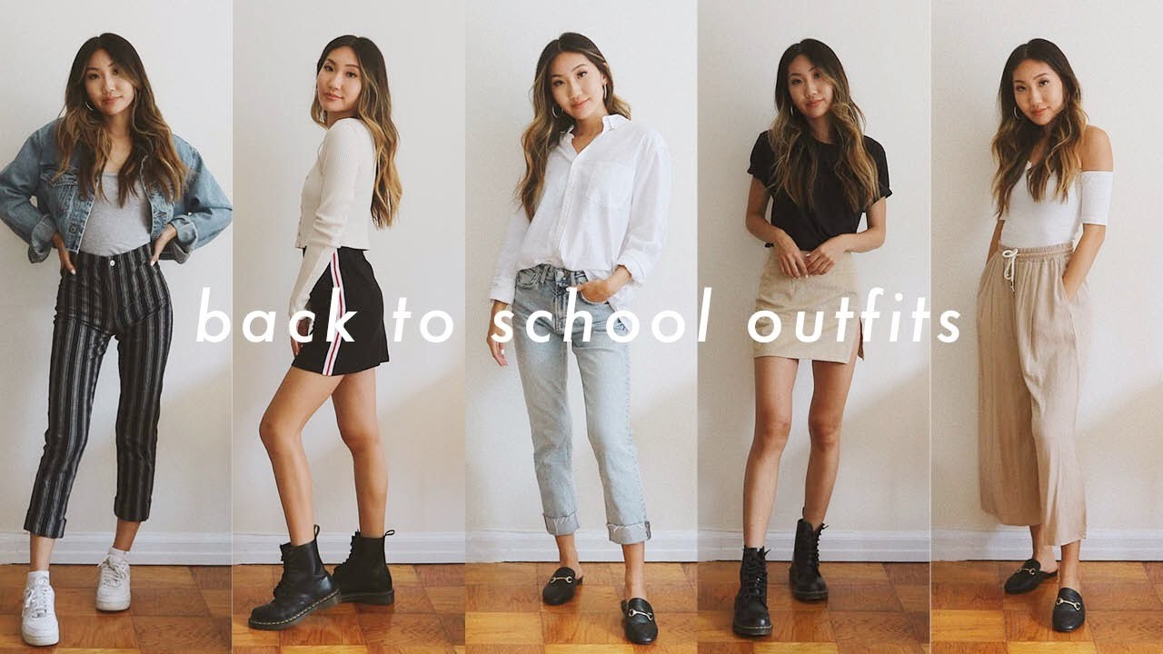BACK TO SCHOOL OUTFIT IDEAS 2019