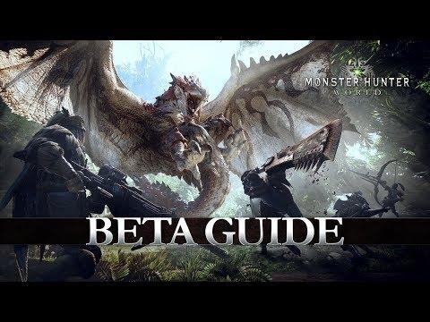 Monster Hunter: World – Beta Guide