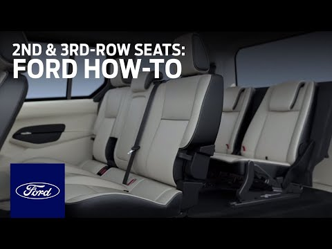 Transit Connect 7-Passenger: 2nd- and 3rd-Row Seats | Ford How-to | Ford