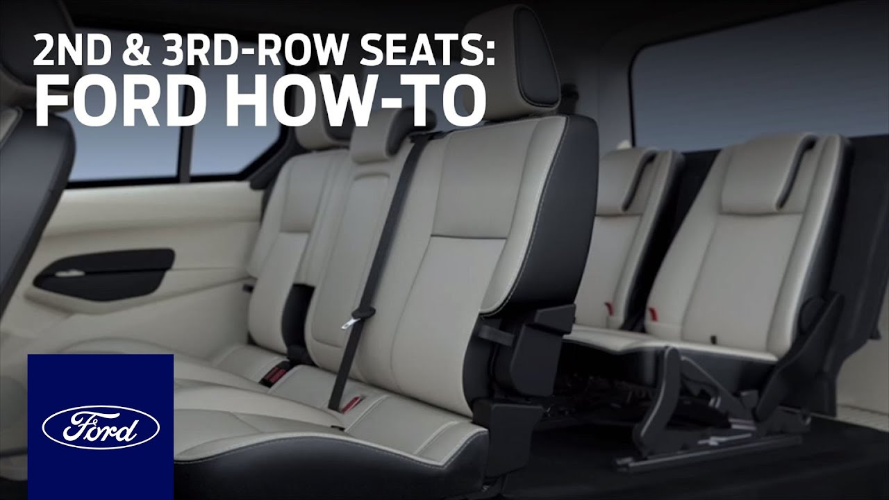 Transit Connect 7 Passenger 2nd And 3rd Row Seats Ford How To Ford Youtube