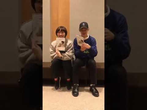 Kaiiri and Umika promoting Tooma's photobook