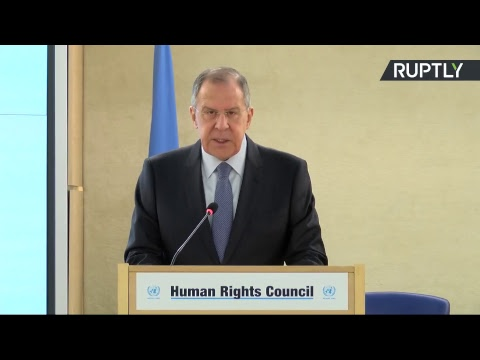 Выступление Сергея Лаврова на 37-й сессии Совета ООН по правам человека