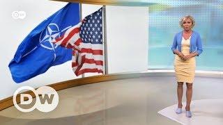 Трамп добрался до НАТО   DW Новости (24 05 2017)