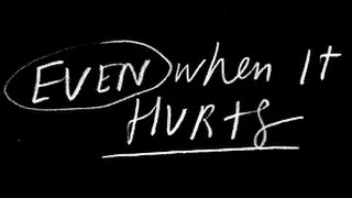 """Even When It Hurts"" Hillsong United lyrics"