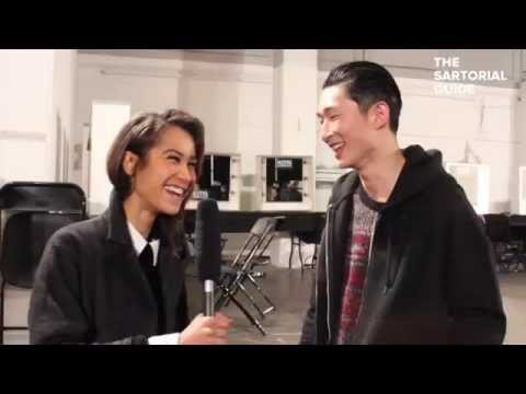 Sang Woo Kim on Casely-Hayford AW15