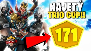 NADUPANÝ TRIO CUPY VE FORTNITE!!