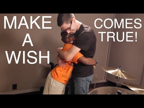 "Drummer's ""Make-A-Wish"" Comes True! (Extended COOP3R Cut)"