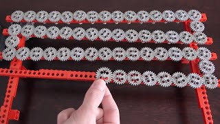 Making the Longest 1:1 Lego Gear Train