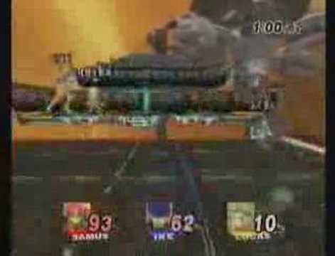 Super Smash Bros. Brawl: Wifi, Ike, Lucas and Samus
