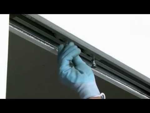 Usi Glisante Din Sticla Usi De Interior Syntesis Line Youtube