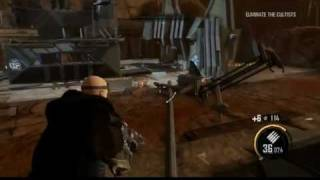 Red Faction Armageddon PC Onlive Demo Gameplay [1/2]