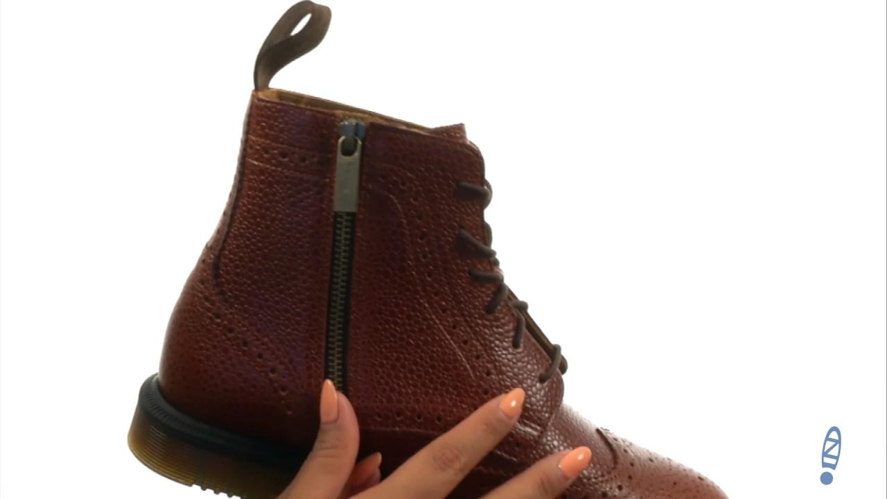 b8d9b387430 Dr. Martens - Delphine 8-Eye Brogue Boot SKU:8905123
