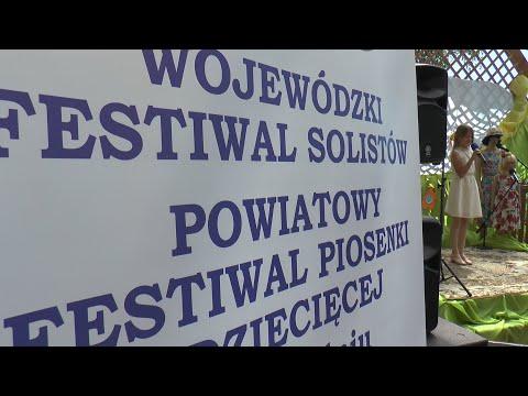 VI Powiatowy Festiwal Solistów Piosenki Dziecięcej i Młodzieżowej w Kodniu