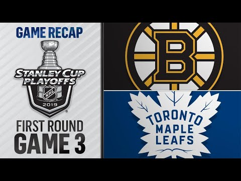 Maple Leafs reclaim series lead with Game 3 win
